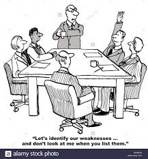 cartoon of business people in a meeting and leader is proposing cartoon of business people in a meeting and leader is proposing they do a swot
