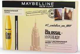 Maybelline <b>New</b> York <b>Подарочный набор</b> Тушь для ресниц ...