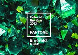 Color of the Year 2013: PANTONE 17-5641 <b>Emerald</b> | Pantone
