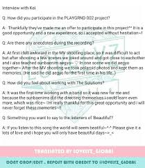 lovelyz global on trans kei x the solutions beautiful lovelyz global on trans kei x the solutions beautiful interview lovelyz kei t co xz3u5thaty t co m9qe134c2t