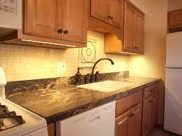 image of under cabinet lighting options tips best under counter lighting