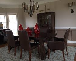 Brown Leather Dining Room Chairs Dining Room Archaic Image Of Dining Room Decoration Using Dark