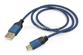 Купить Зарядный <b>кабель Hama High Quality</b> черный/синий ...