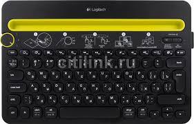 Купить <b>Клавиатура LOGITECH</b> Multi-Device <b>K480</b>, черный в ...