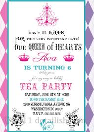 Tea Party Invitations In Amazing Design Ideas on Party Invitation ...