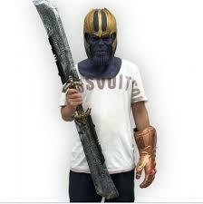 <b>Thanos Double</b>-<b>Edged</b> Sword Cosplay Props <b>Avengers</b> 4 <b>Endgame</b> ...