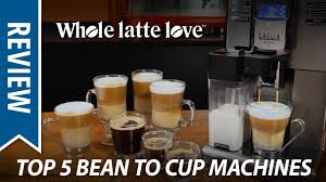 Top 5 Best <b>Automatic</b> Coffee <b>Machines</b> of 2018 - YouTube