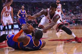 bulls vs knicks final score jimmy butler s career high 35 points derrick rose and carmelo anthony didn t play so butler decided to put on his own show