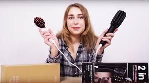 Выпрямление волос с ионизацией супер <b>расческой</b> из GearBest ...