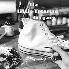 The Little Treasure Company - <b>custom hand</b>-<b>painted</b> shoes & <b>murals</b> ...