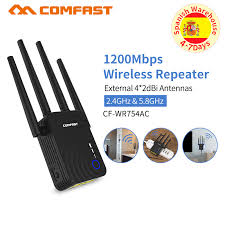 <b>High Power</b> 1200Mbps Comfast Dual Band 2.4+5 Ghz Wireless <b>Wifi</b> ...