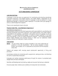 auto mechanic resume skills job resume sample automotive entry level auto mechanic supervisor resume template eager world
