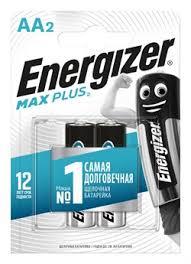 Купить <b>Батарейка ENERGIZER Max</b> Plus LR6/<b>AA</b>/E91 BL2 в ...
