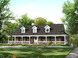 Beautiful Country House Plans   Wraparound Porch Ideas   Modern    Image of  Country House Plans With Wraparound Porch