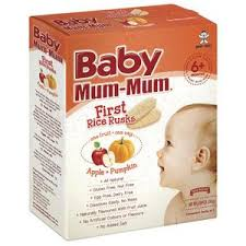 <b>Baby Mum</b>-<b>mum Apple</b> & Pumpkin Rice Rusks | Coles Online