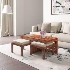 <b>Solid</b> Wood <b>Coffee Tables</b> | Buy Durability Certified <b>Solid</b> Wood ...