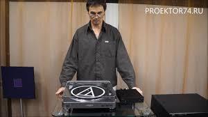 Обзор <b>винилового проигрывателя Audio-Technica</b> AT-LP60 USB ...