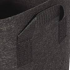 280 x 61cm ,Diameter * Height <b>Grow</b> Bag Black <b>2pcs</b> Non-Woven ...