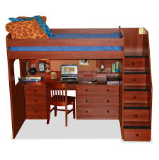 loft bunk beds with stairs and desk bunk beds stairs desk