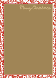 christmas border for christmas border template