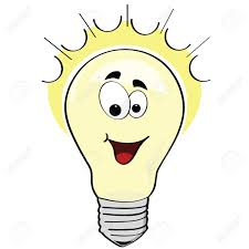 Image result for thinking light bulb clip art