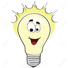 Image result for thinking light bulb clip art