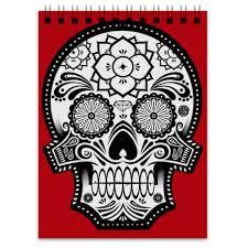 Блокнот Santa Muerte skull #1082646 от scoopysmith