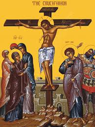 Image result for crucifixion of Christ Orthodox icon