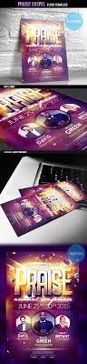 praise gospel flyer psd template church flyer templates flyer sample
