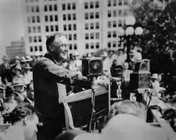 radio fdr s natural gift american radioworks democratic presidential candidate franklin d roosevelt makes a campaign speech in topeka kansas on 14 1932 photo franklin d roosevelt