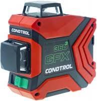 Лазерный <b>нивелир CONDTROL GFX 360</b>-3 20 м, кейс (1-2-222)