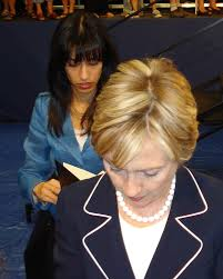 Hillary and Huma Look Very Sad in Latest Photos - Almost Like a ...