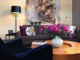 blue sofas living room: anastasia faiella contemporary living room blue sofa