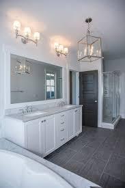 idea bathroom white vanity white ensuite grey marble bath surround and countertops double vanity
