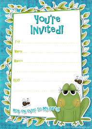 birthday party invitation template birthday party invitation online birthday party invitation templates word