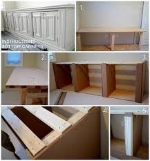 diy built in office cabinet bottom instructions classy glam living built in office