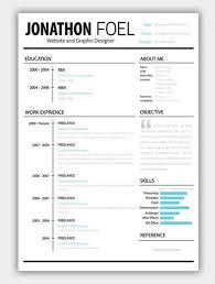 amazing collection of free cv resume templatesmini stic resume template