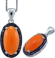 Подвеска Balex Jewellery, <b>серебро 925</b>, <b>коралл</b>, раухтопаз ...