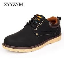 <b>ZYYZYM</b> Man Casual Shoes Spring Autumn Lace-up Style Pu ...
