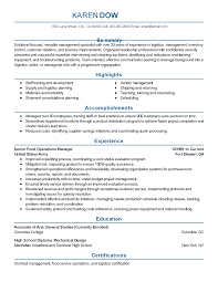 professional food operations manager templates to showcase your resume templates food operations manager