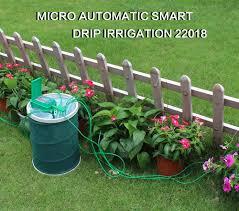 <b>Automatic</b> Micro Home Drip <b>Irrigation Watering Kits System Sprinkler</b> ...
