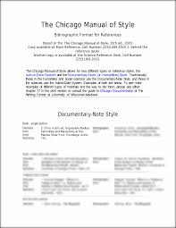 chicago paper format template chicago style footnotes example paper