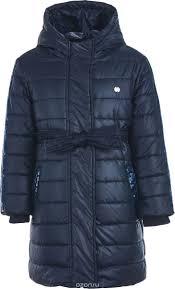 <b>Пальто</b> для девочки. 218BBGC4505, цвет: синий - купить модную ...