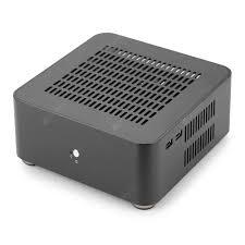 L80S Computer Cases Aluminum Chassis <b>Desktop</b> Mainframe For ...