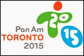 Resultado de imagen para logo panamericanos toronto 2015