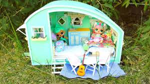 <b>NEW</b> OMG LOL Surprise Glamper Car <b>DIY</b> ! <b>NEW Dollhouse DIY</b> ...