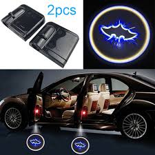 <b>2pcs Wireless Car</b> Door Projector Lights Auto Mount Welcome ...