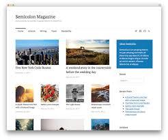 50 best responsive wordpress themes 2017 colorlib semicolon magazine theme