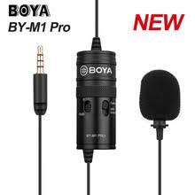 Микрофон <b>BOYA</b> BY-<b>M1</b> Pro, петличный Студийный микрофон ...