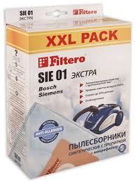 <b>Мешки</b>-<b>пылесборники SIE 01</b> XXL PACK, ЭКСТРА, 8 шт. + фильтр ...